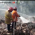 5 Damkar Diturunkan Jinakan Api di Pabrik Triplek Cikembar