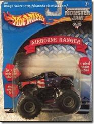 hot wheels monster truck series list airborne ranger