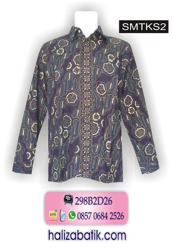 busana batik modern, atasan batik, contoh model baju batik modern