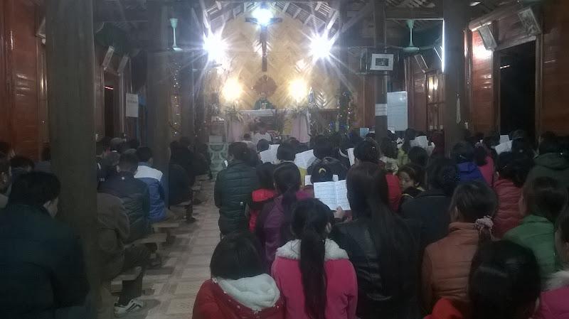 Hình ảnh Thánh lễ tất niên của giáo họ Trúc Lâu - Gx Lục Yên