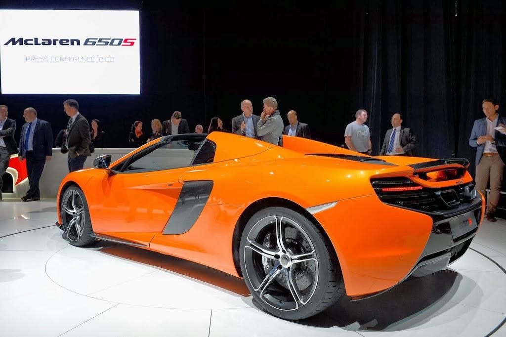 McLaren 650S Spider Geneva Motor Show 35