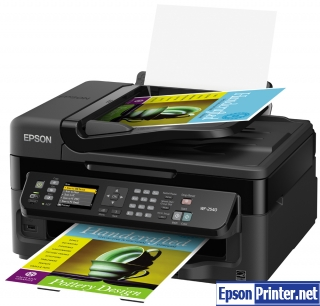 How to reset Epson WorkForce WF-3520 printer