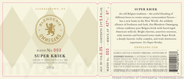 Blenderie Ommegang Adding Super Kriek
