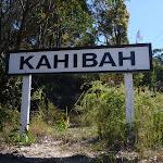 Old Kahibah Train station sign (338284)