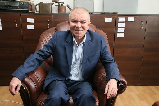 Седат Игдеджи - фото с рабочего места