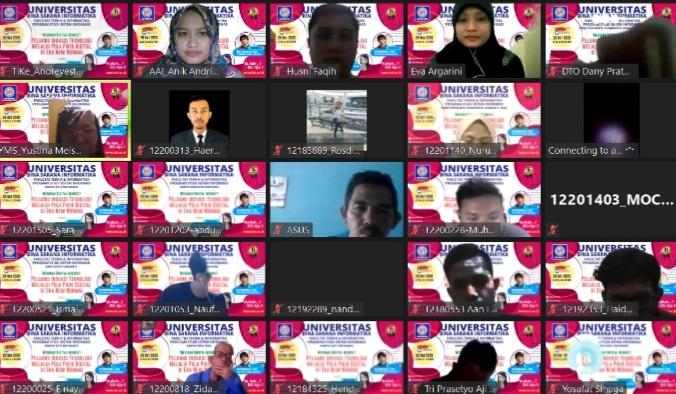 UBSI Bekali Mahasiswa dengan Seminar Digital Mindset di Era Percepatan Digital