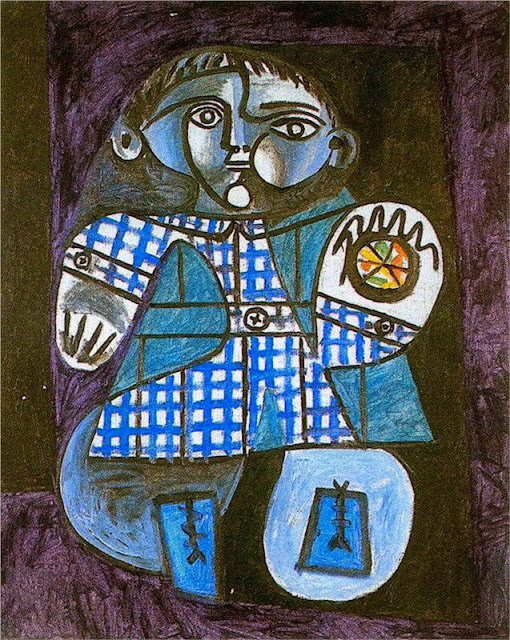 Pablo Picasso - Claude with a ball, 1948