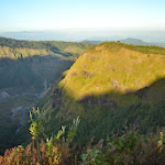 widok za zachód, w oddali Makassar