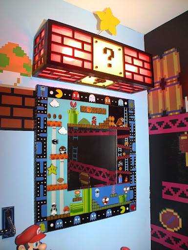 Amazing Mario, Donkey Kong and Pac Man room