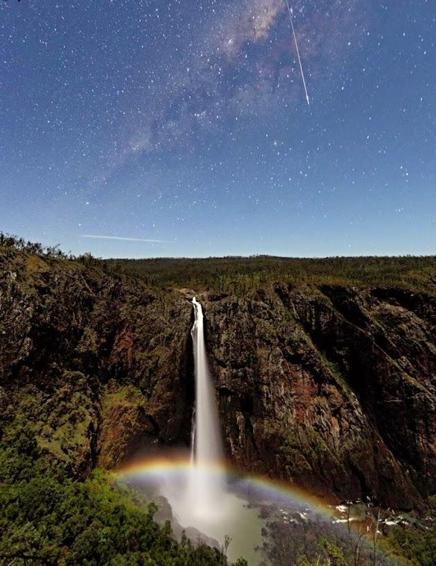 Уолламан, Австралия, Красивые водопады планеты
