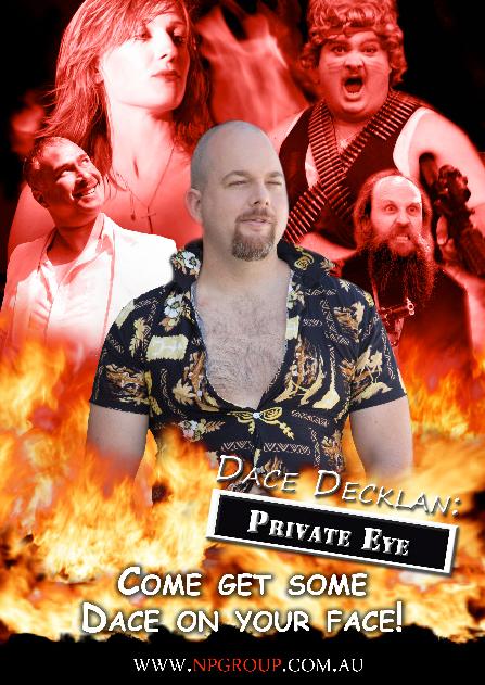 Tom Vogel: Dace Decklan: Private Eye
