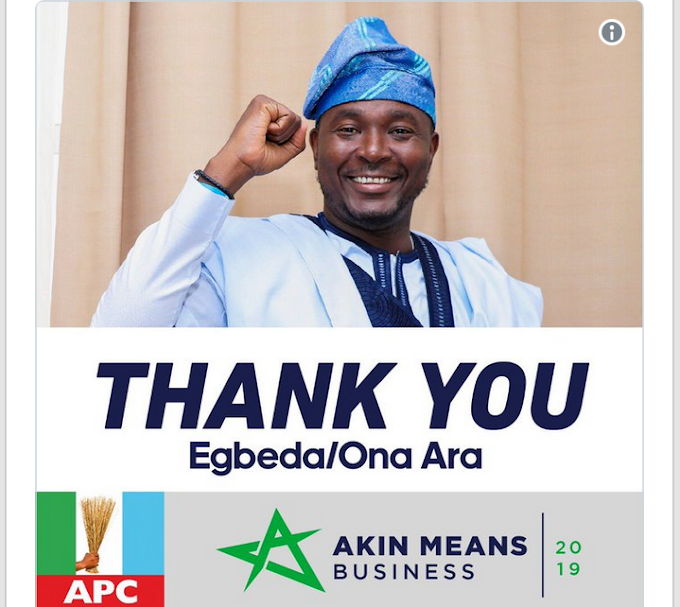 Congrats!! Nairabet Owner, Akin Alabi Wins 2019 Federal House Of Reps Seat
