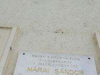 Márai Sándor emléktáblája.JPG