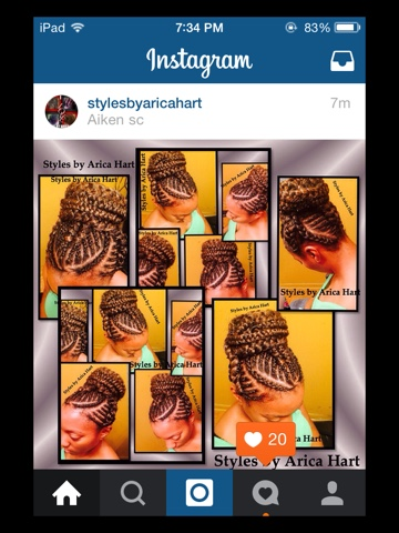 Cornrow , braids , hairstylist , Aiken , SC , hairstyles , protective styles , black hair , black hair images , styles by Arica Hart