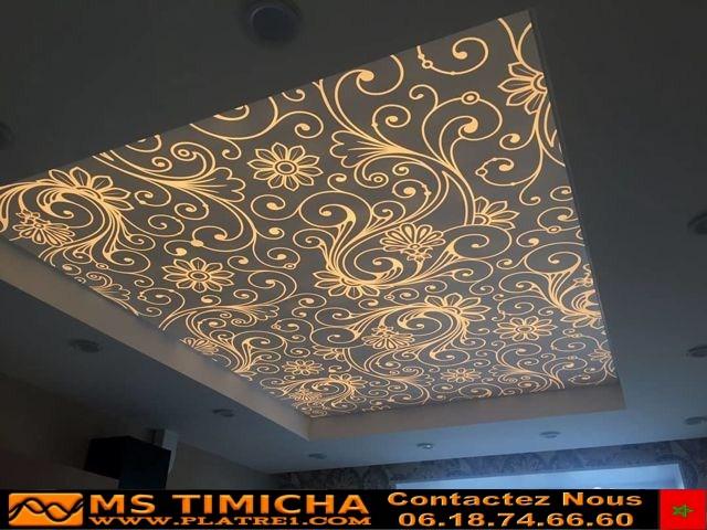 Plafond 3d  art ms timicha