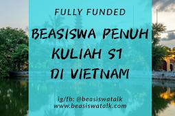 Fully Funded Beasiswa S1 Vietnam ICT Scholarship 2020