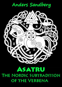 Cover of Anders Sandberg's Book Asatru The Nordic Subtradition of the Verbena