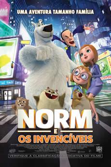 Capa Norm e os Invencíveis Torrent