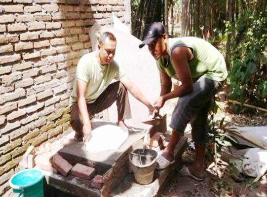 Kabupaten dan Kota Kediri: Kodim 0809 Kediri Tuuntaskan program Sejuta Jamban