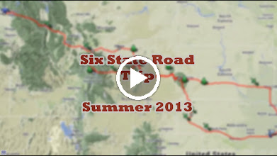Video: VIDEO: Musical Slideshow of our six-state trip toward Nebraska. From Spokane to Lincoln, and many spots in between. Featured are Little Bighorn, Mt Rushmore, the Black Hills, the Badlands, and Wall Drug. (9:36 minutes)