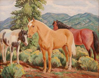 """""""Horses Chamisa"""""""