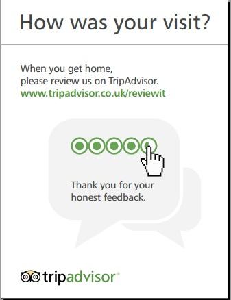 3 mẫu card mời review khách sạn