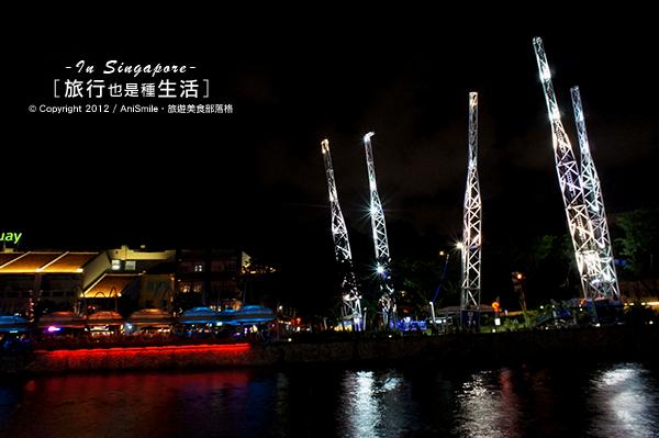 【走走新加坡】新加坡駁船遊河&克拉碼頭