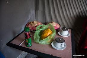 Hotelowe śniadanko w Singaraja