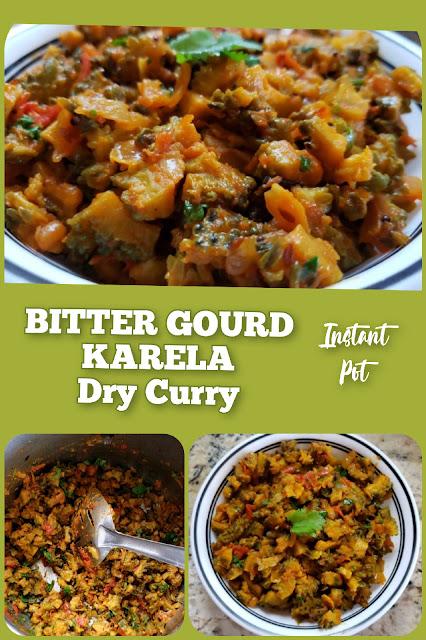 Instant Pot Bitter Gourd Fry