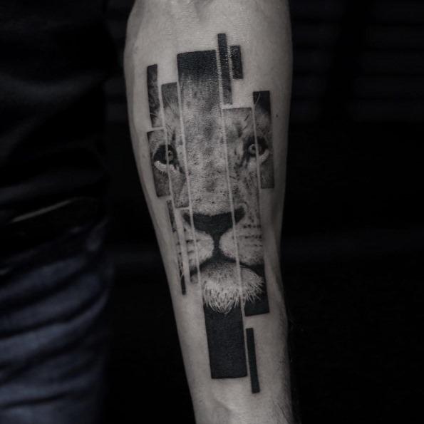 este_segmentado_tatuagem_de_leo