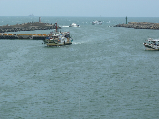 Port de TAM SHUI, DAN SHUI