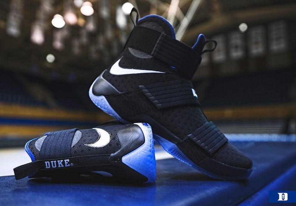 the best attitude 78166 8f9d3 ... Duke Blue Devils Received Their Special LeBron Soldier 10 PEs ...