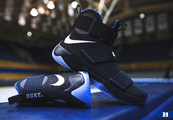 Duke Blue Devils Received Their Special LeBron Soldier 10 PEs