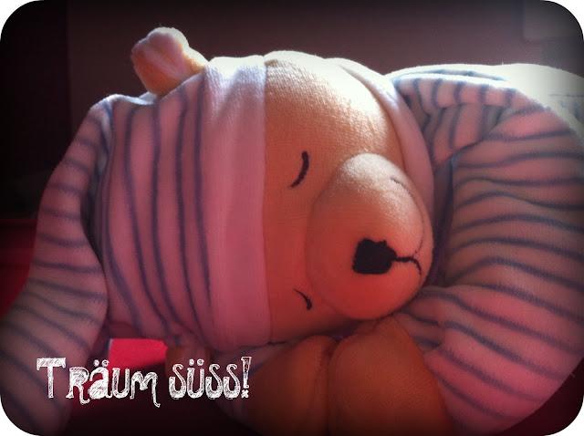 Schlafbär mit Herzschlag