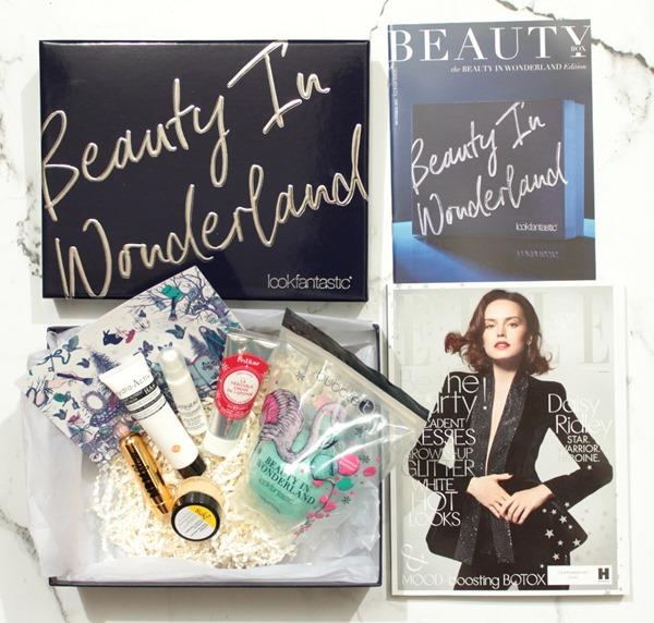 BeautyInWonderlandBeautyBoxLookfantastic