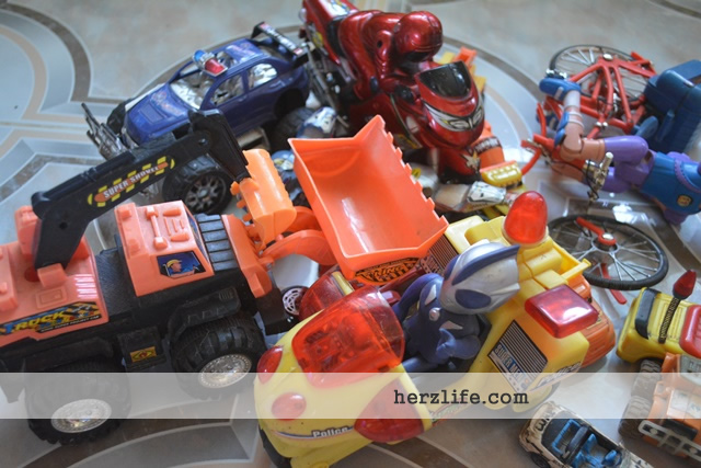 The Art of Letting Go: Toy Cars