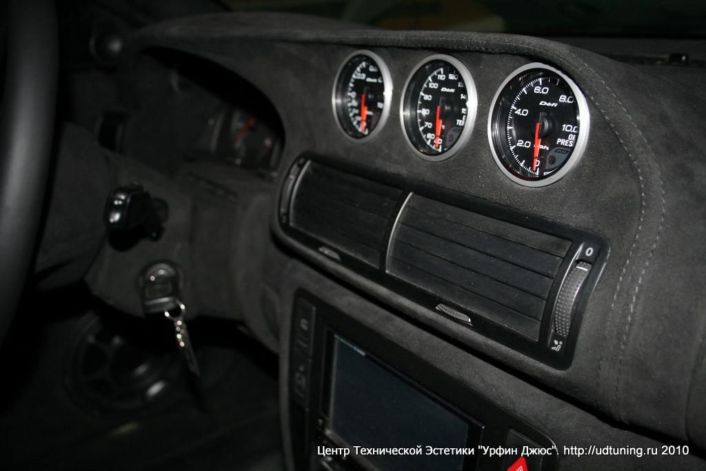 установка дополнительных приборов на VW Passat