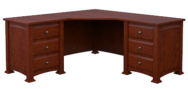 Concord L-Shaped Desk