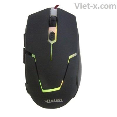 Chuột máy tính chuyên Game Vision V10 giá rẻ chính hãng
