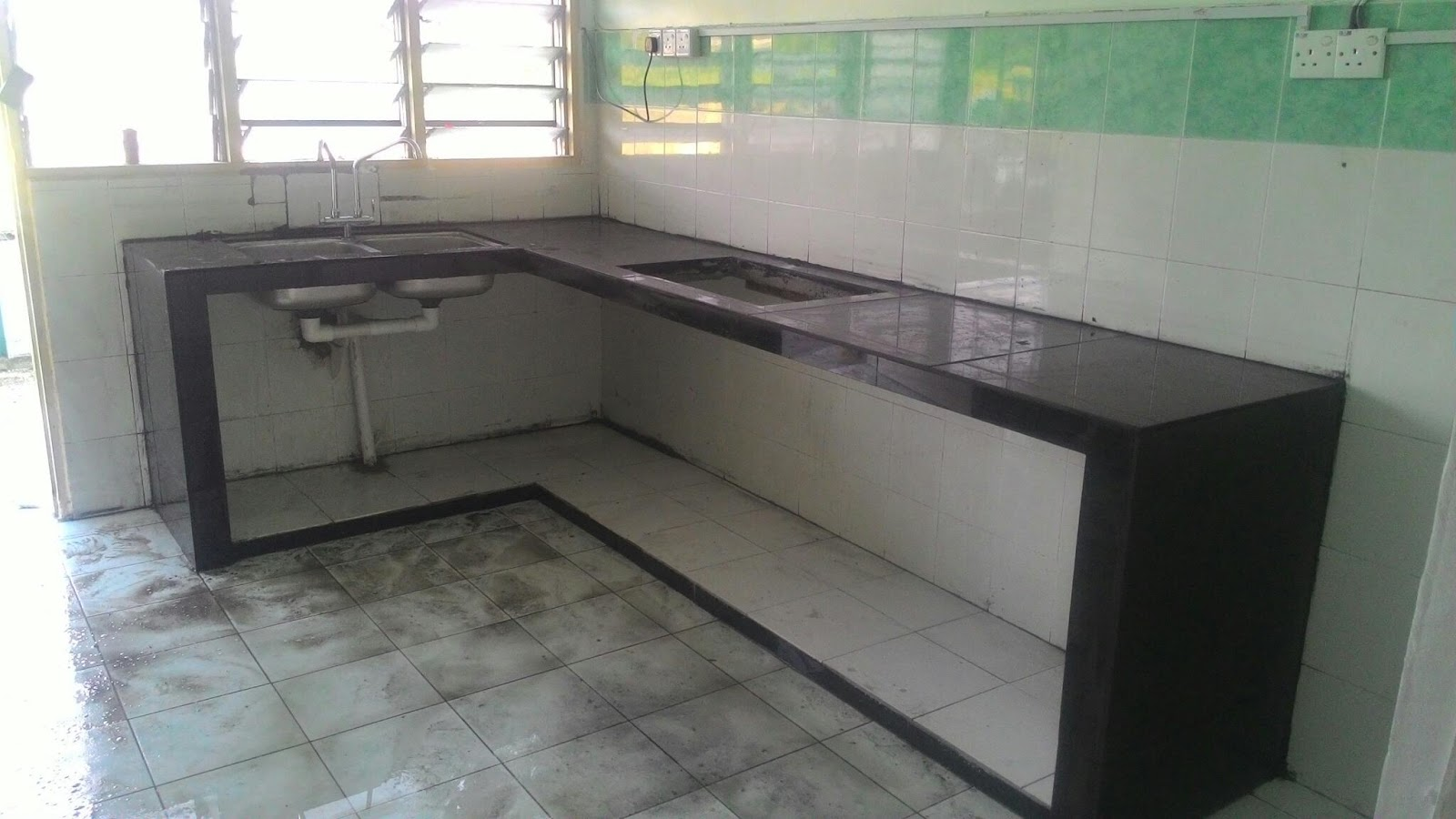 Jenis Table Top Dapur Desainrumahid