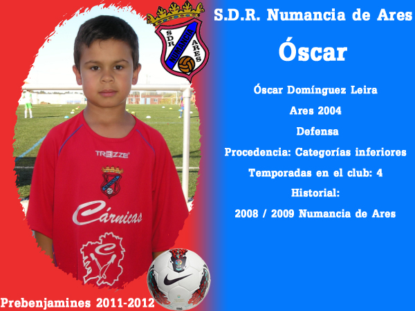 ADR Numancia de Ares. Prebenxamíns 2011-2012. OSCAR.