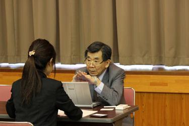 BASセミナー2014 第1回 デモコース:渡辺訓行先生による個別相談コーナー