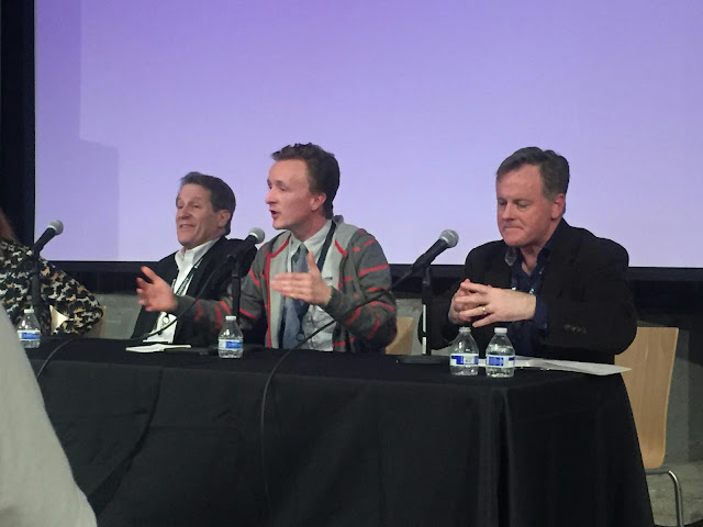 MSPIFF panel with Actors Paul Cram, Peter Moore, and Patrick Coyle