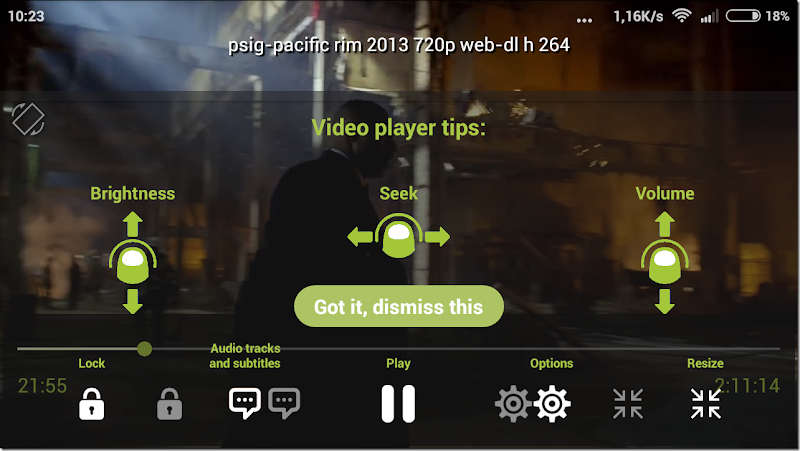 menampilkan video subtitle di hp android