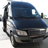 2005 Sprinter Van - Custom Tan Install