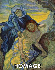 Vincent van Gogh Paintings of Other Artist's Works