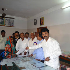 Title-deed Distruted by MP BY Raghavendra for the Beneficiary under Vajapayee Nagara Niveshana Plan.
