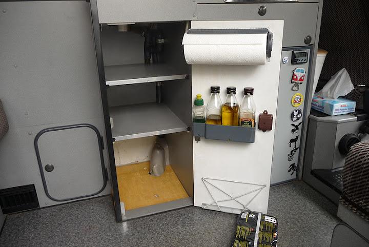 Portarrollos de cocina de dimensiones m nimas construido for Portarrollos de cocina