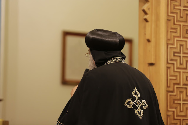 His Holiness Pope Tawadros II visit to St. Mark LA - _09A9108.JPG