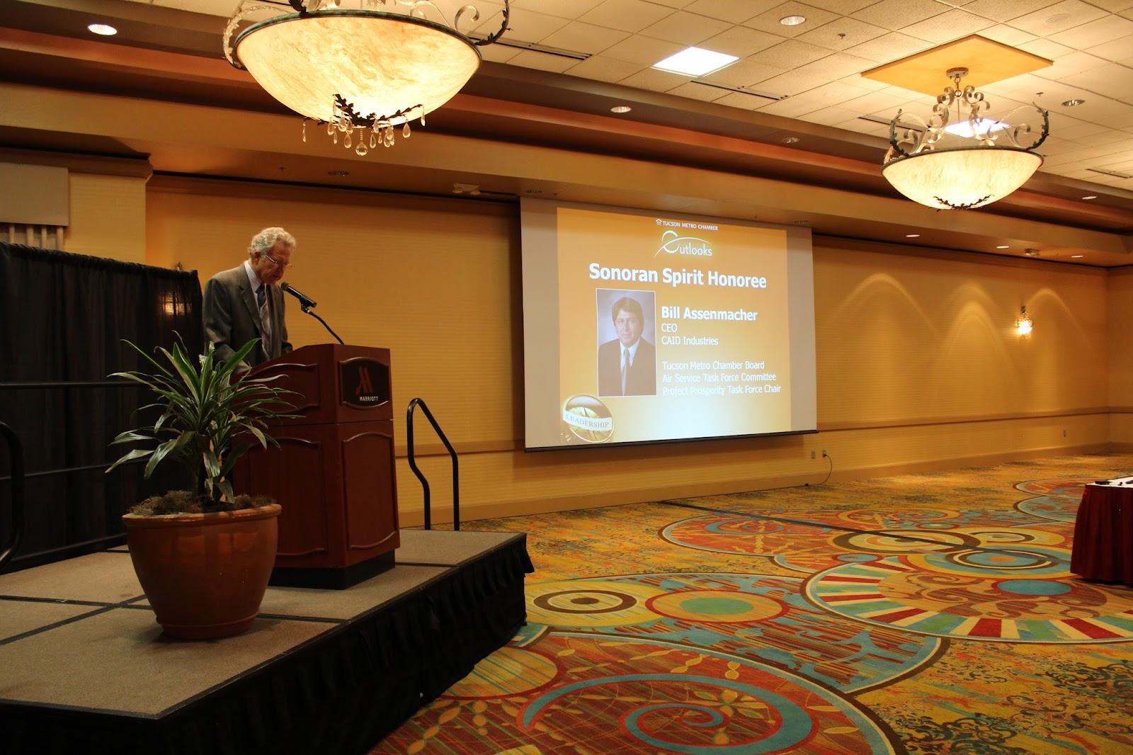 Outlooks – with Bill Graham at Tucson Marriott University Park